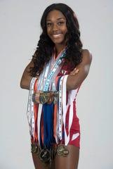 Koriyunna Arrington-Girls Track Athlete of the Year
