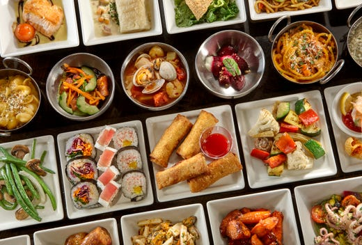 Las Vegas Buffet Prices Here Are The 5 Cheapest Buffets