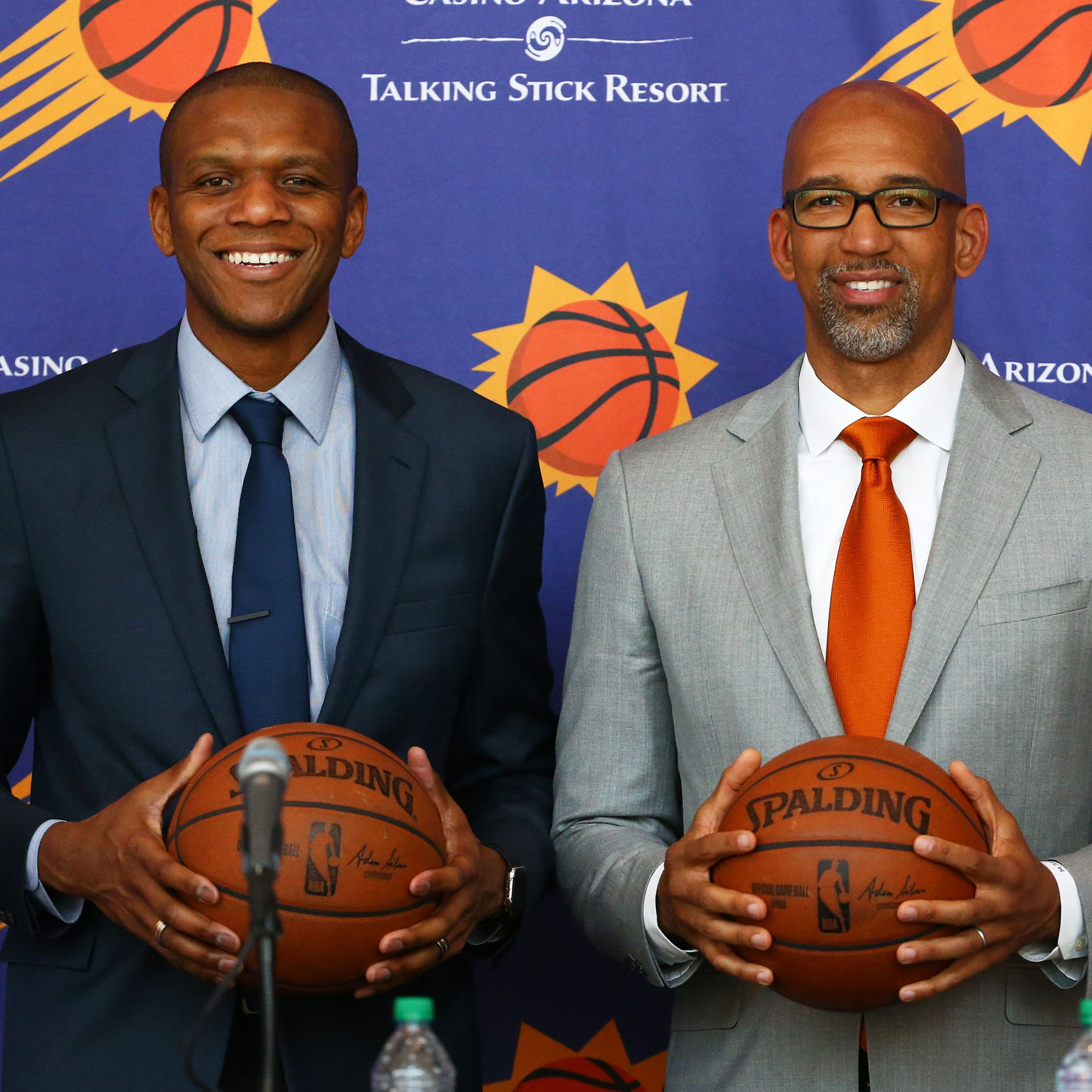 Suns GM James Jones and new coach Monty Williams are the perfect pair