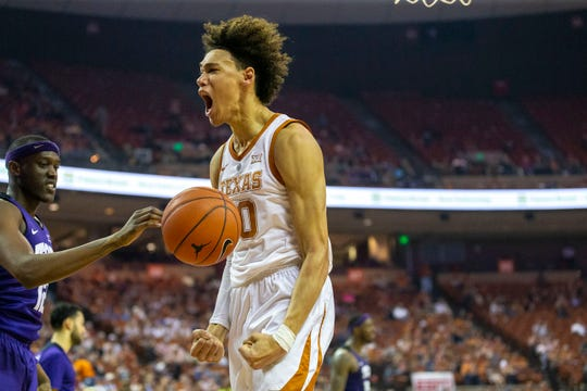 Texas center Jaxson Hayes