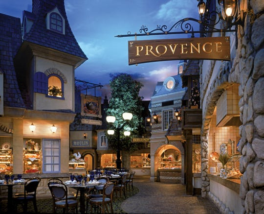 The atmosphere at LeVillage Buffet at Paris  will make you feel like you eating in a French village with each room decorated to mirror the décor in the different regions of France