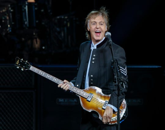 Paul McCartney will play Talking Stick Resort Arena on Wednesday, June 26.