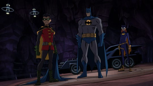 "In a big crossover movie event, Robin, Batman and Batgirl team up with the Teenage Mutant Ninja Turtles to try and stop a common enemy in ""Batman vs. Teenage Mutant Ninja Turtles."""