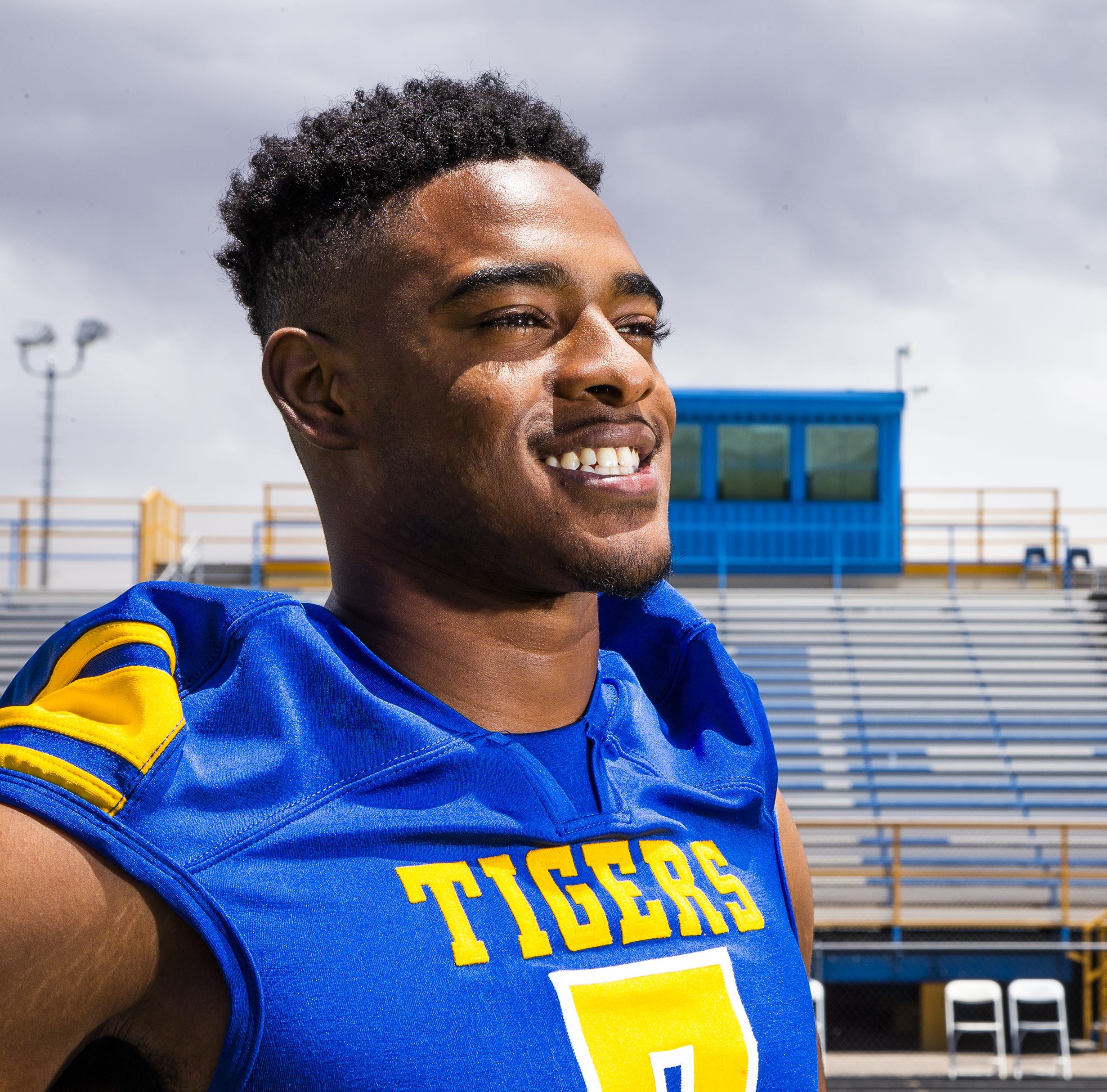 Triumphant walk: Marana football player Tariq Jordan to get diploma after nearly losing leg