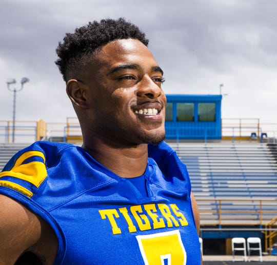 Tariq Jordan, who played wide receiver for Marana High School was seriously injured during a playoff game and has required multiple surgeries to repair his knee and leg.