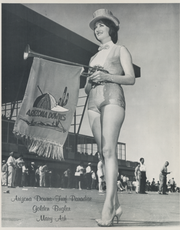 Arizona State University student Mary Ash was the world's first female racetrack bugler at Arizona Downs and Turf Paradise in Phoenix.