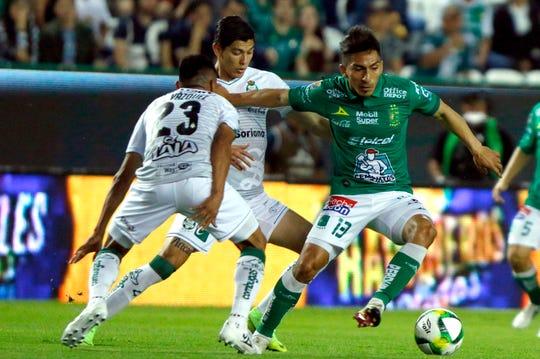 El ecuatoriano Ángel Mena fue el máximo romperredes del Clausura Mexicano.