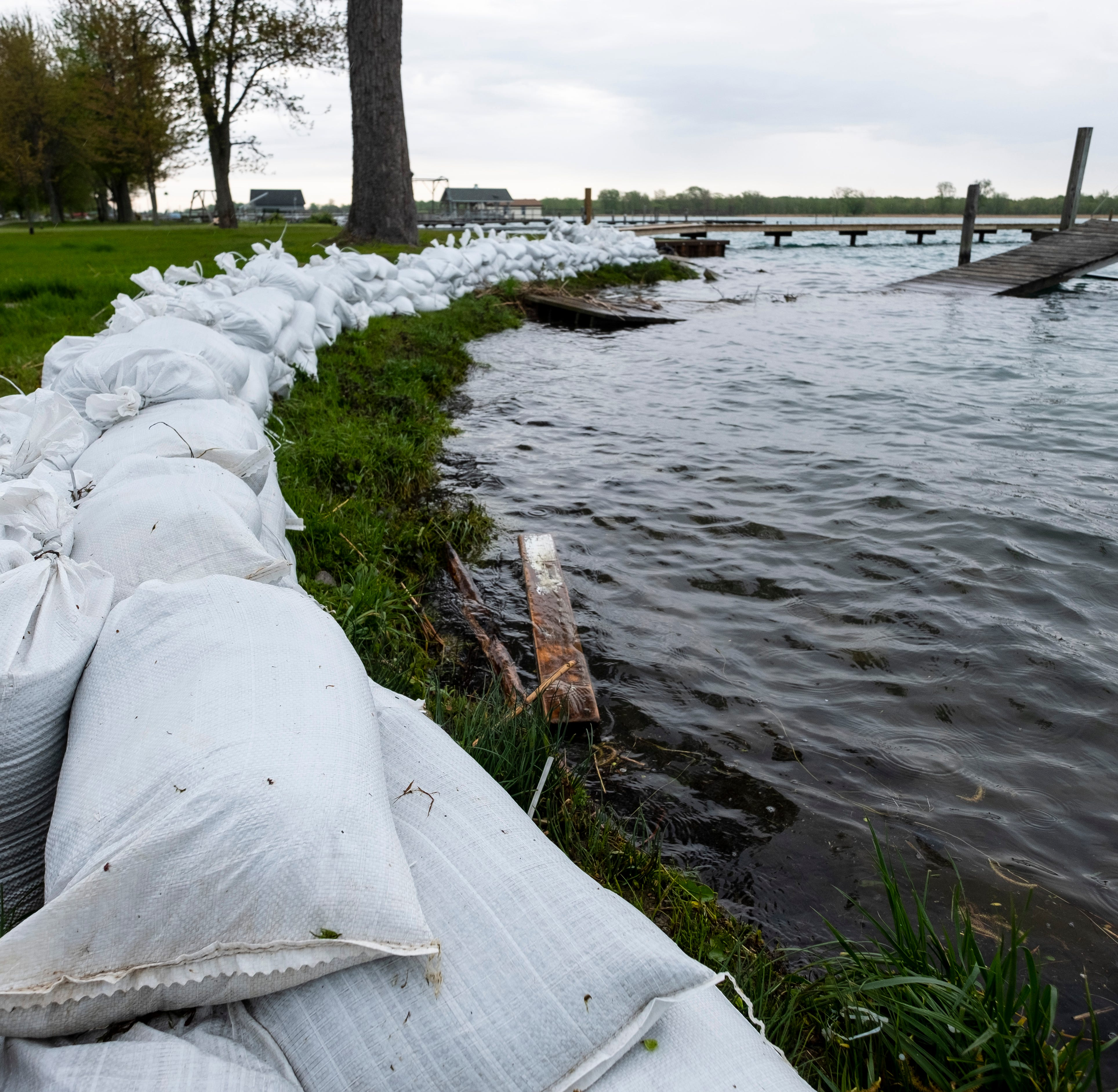 Harsens Island residents asked to limit water usage in face of rising water levels