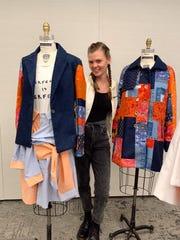 Marist Fashion Program design major Isabel Holden won the Council of Fashion Designers of America's $25,000 Liz Claiborne Design Scholarship Award.