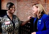 Primary-winning Democrats Sandra Thompson, Judith Higgins and Doug Hoke reflect, anticipate general election.