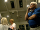 Republican candidate for county commissioner Steve Chronister watches results come in on Tuesday, May 21. Chronister conceded the race later in the night.