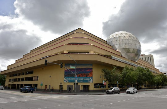 The National Bowling Stadium in downtown Reno May, 22, 2019.