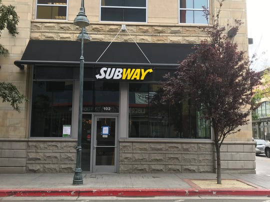 Blind Dog Tavern is moving from Arlington Avenue to the former Subway on the ground floor of the Palladio building in downtown Reno.