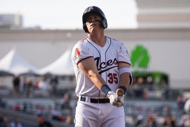 The Aces' Kevin Cron had a big night during Reno's 25-run outburst Monday. He's also the reigning PCL player of the week.