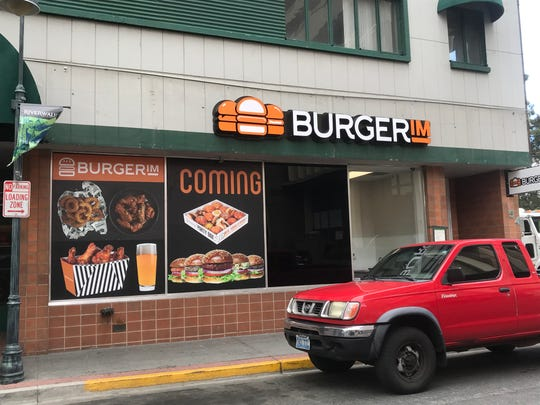 The franchisee estimated the downtown Reno Burgerim would open in June 2019.