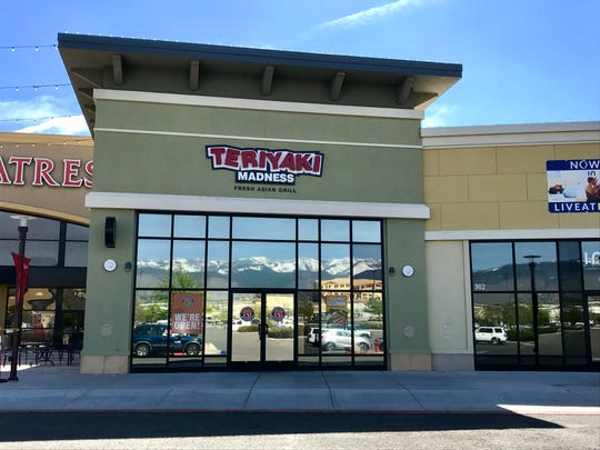 An outpost of the Teriyaki Madness chain recently arrived at the Summit center off Mount Rose Highway.