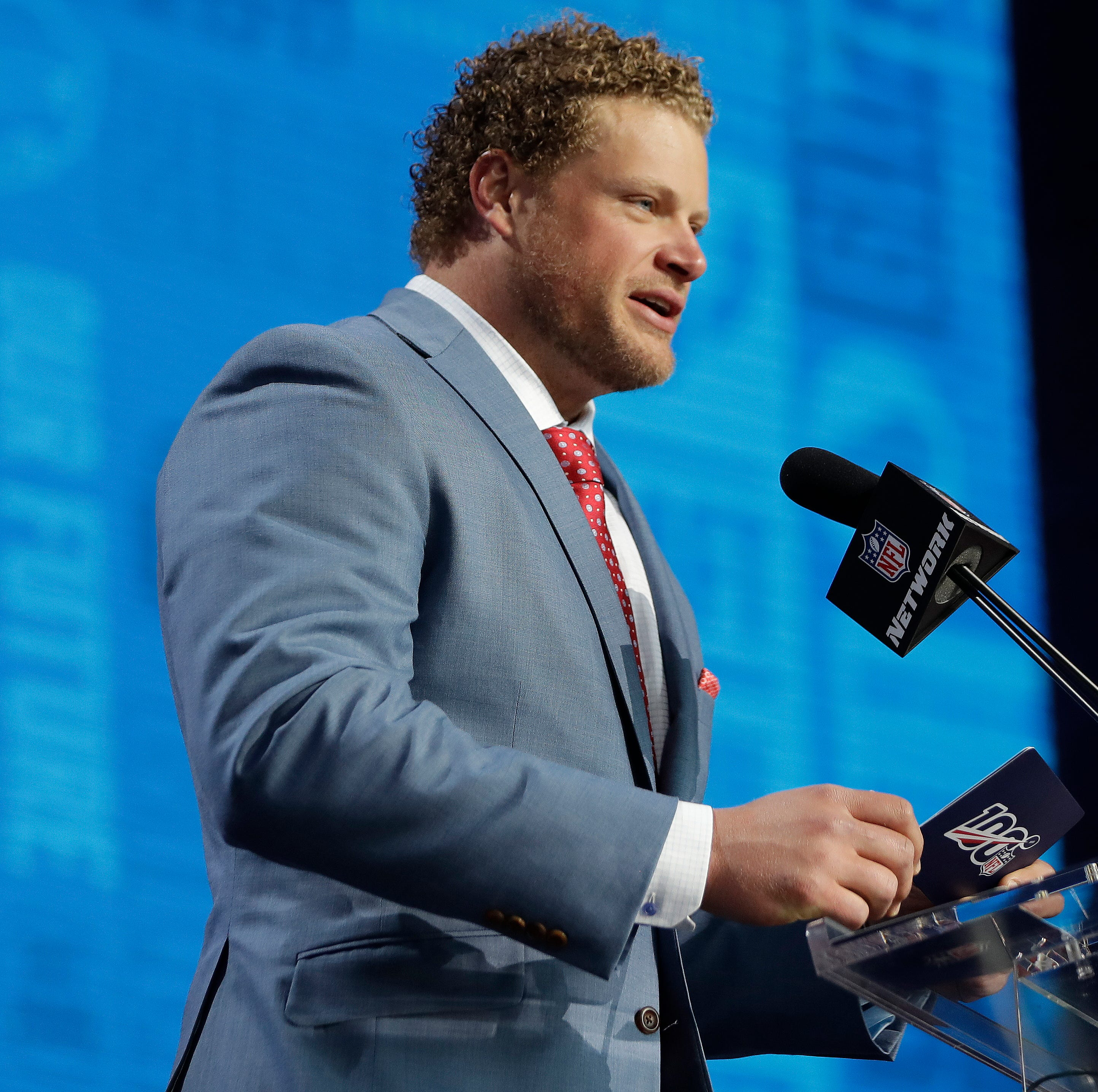 Eric Wood on the Bills offensive line group: 'The cream is going to rise to the top'