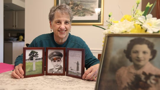 She's watched over this WWII soldier's grave for 74 years. He was a mystery to her, until now