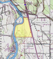 Strawberry Fields, the proposed site for Redding Rancheria's new casino resort.