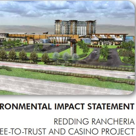 City decides whether to send letter raising concerns about Redding Rancheria's casino plans