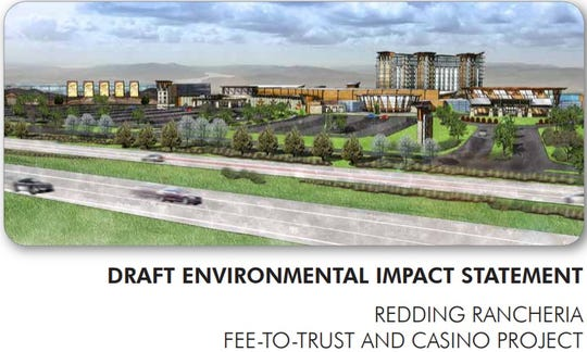 An illustration of the Redding Rancheria project