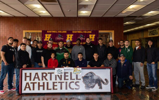 Teammates, coaches, friends and family were on hand Wednesday as Ramos made the signing official to become the Panthers' latest Division I athlete.