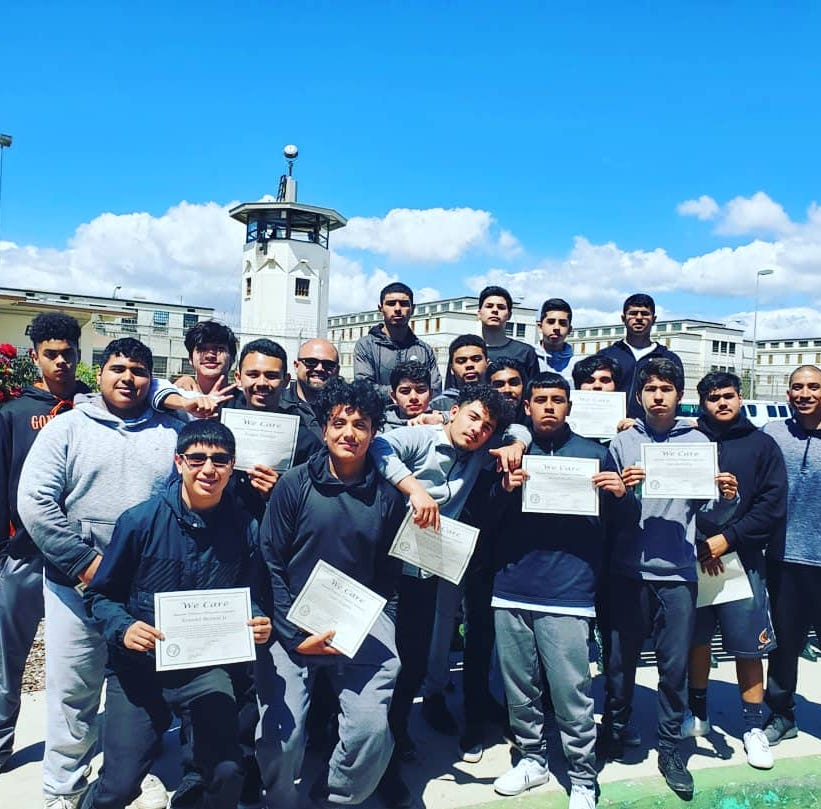 Gonzales athletes gain perspective, life lessons from prison inmates in 'We Care' program