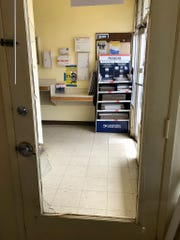 The Chualar Post Office was burglarized on May 21, 2019. The suspect is accused of breaking the interior door to enter the office's retail side.