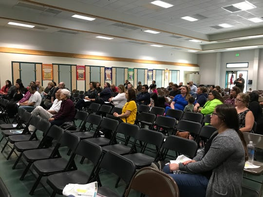 Santa Rita Union School District held a meeting on May 20, 2019 to discuss impacts of the West Area Specific Plan that is poised to add thousands of new homes to northern Salinas.