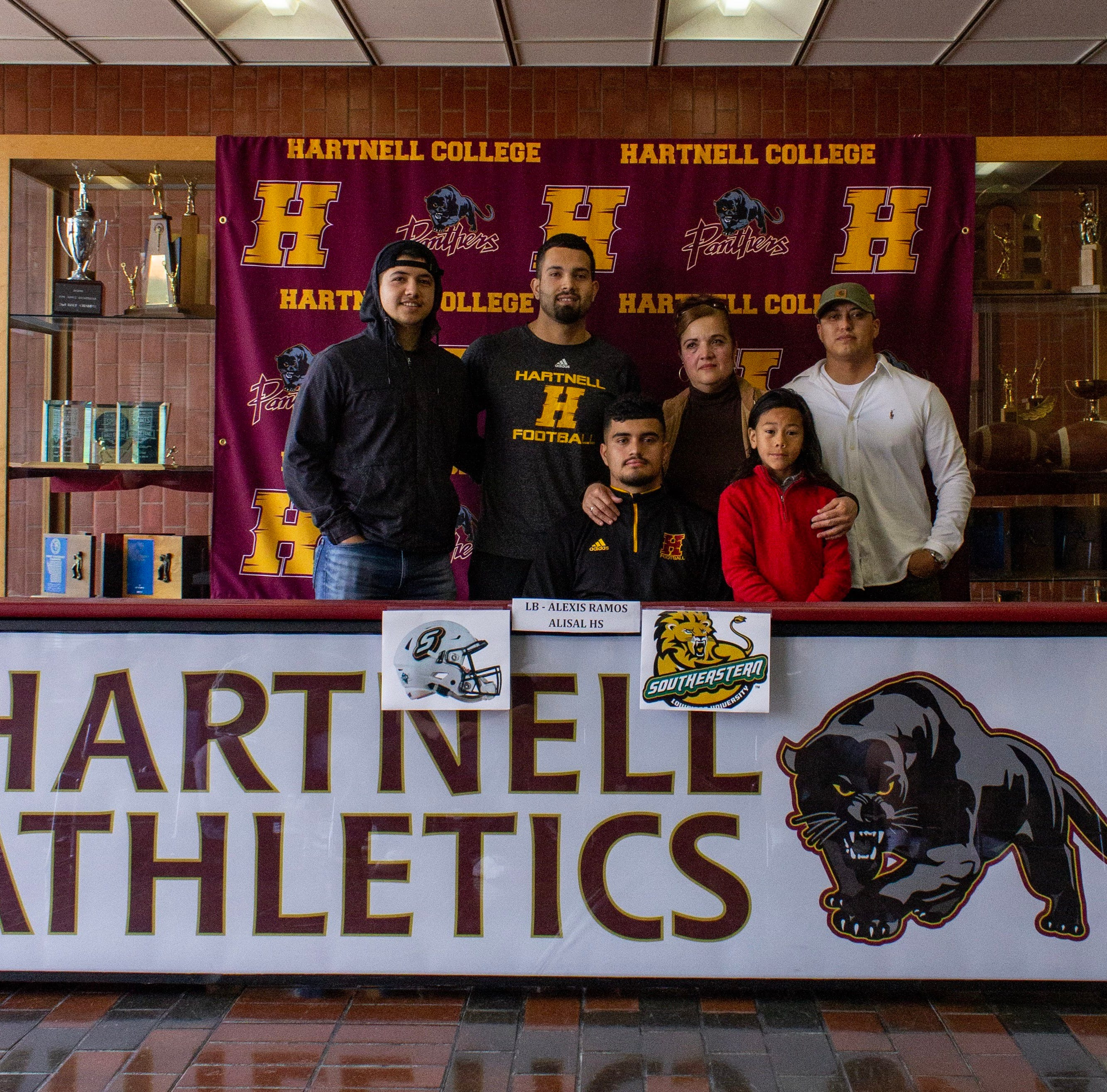 Signed: Alisal alum Ramos officially a Division I football player