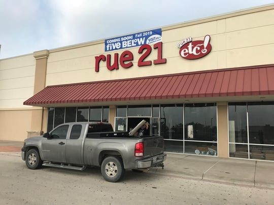 Five Below opening at the old Rue 21 location at 4161 Sunset Drive in Fall of 2019. Photo taken Wednesday, May 22, 2019.