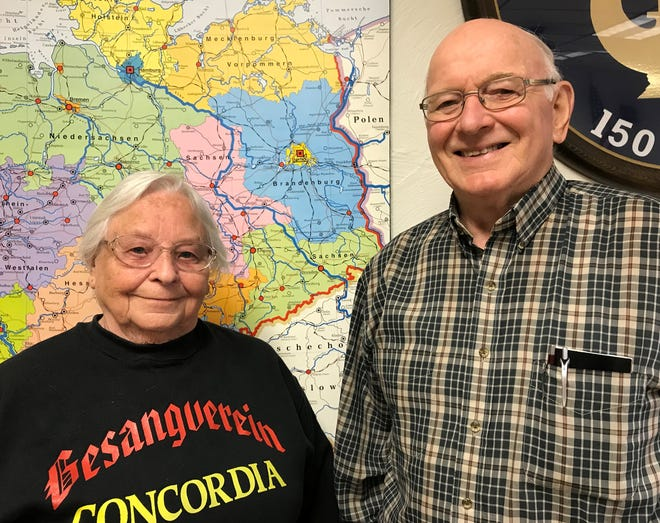 Bill and Dorothy Mueller have been married and singing German music since 1961.