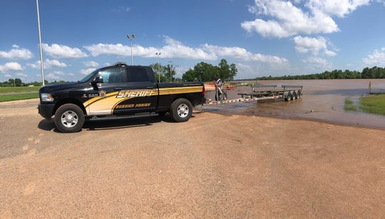 First responders are actively searching for a person who may have jumped from the I-20 bridge and into Red River early Wednesday afternoon.