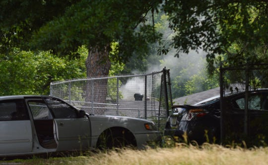 Shreveport police used a chemical agent to get a subject out of a residence to end an hours-long standoff on East Jordan Street on Wednesday.