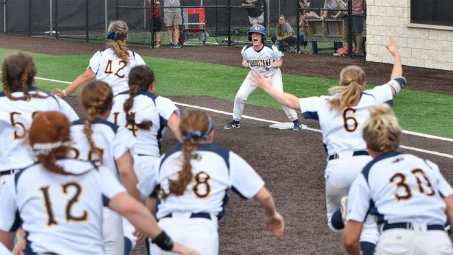 Augustana's softball team won the last Division II national championship in 2019
