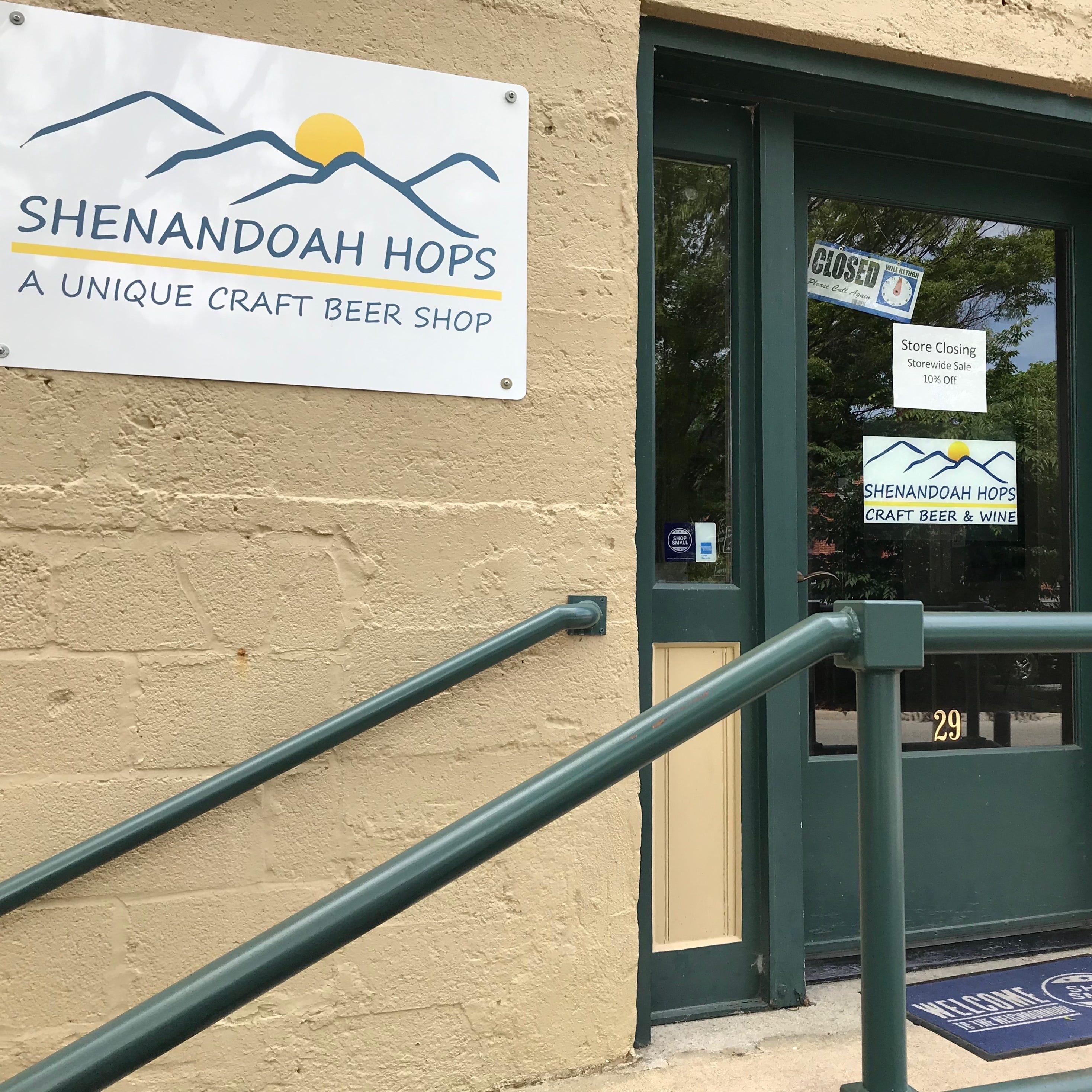 Staunton's Shenandoah Hops closing its doors
