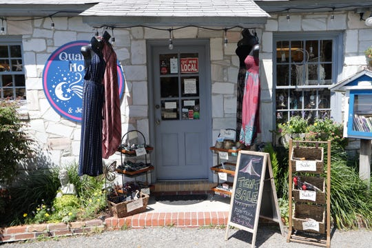 Quarter Moon Imports has been located in the Lake Ella Cottages for 30 years. Original owner Wendy Halleck is selling the business to Katie Haggerty who has been Halleck's employee for six years.