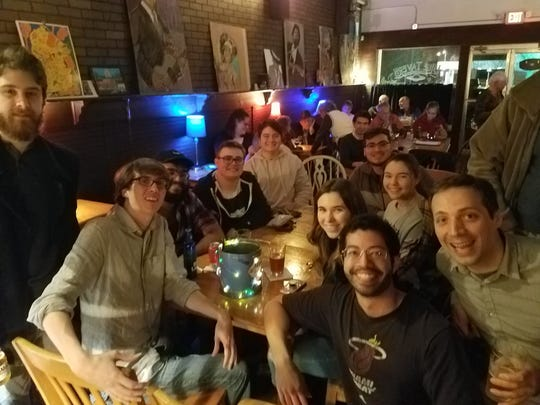 Slip on those dancing shoes (or slip them off!) as Brazilian Choro with As Saudades slides through Blue Tavern Tuesday night, 8-10 p.m.