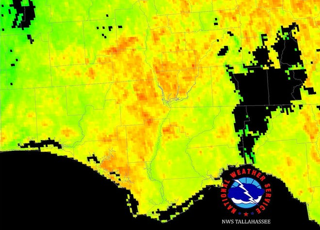 Places hit by Hurricane Michael could see even hotter temperatures during weekend heatwave.