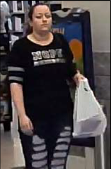 Port St. Lucie police are asking for the public's help to identify this woman in connection with several auto burglaries that were reported in the city.
