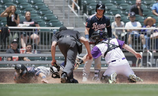 The Chihuahuas played their final day game of the 2019 season Wednesday. School groups were in attendance as well as some playing hookie from work. The dogs fell 9-1 to Reno.