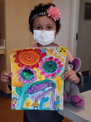 Neveah, patient at Southwest University Pediatric Blood and Cancer Center at EPCH.