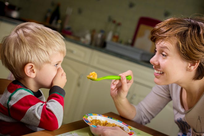 Don't start at mealtime trying to get your kids interested in eating more healthful foods. Involve them in all aspects of cooking, from shopping to meal prep.