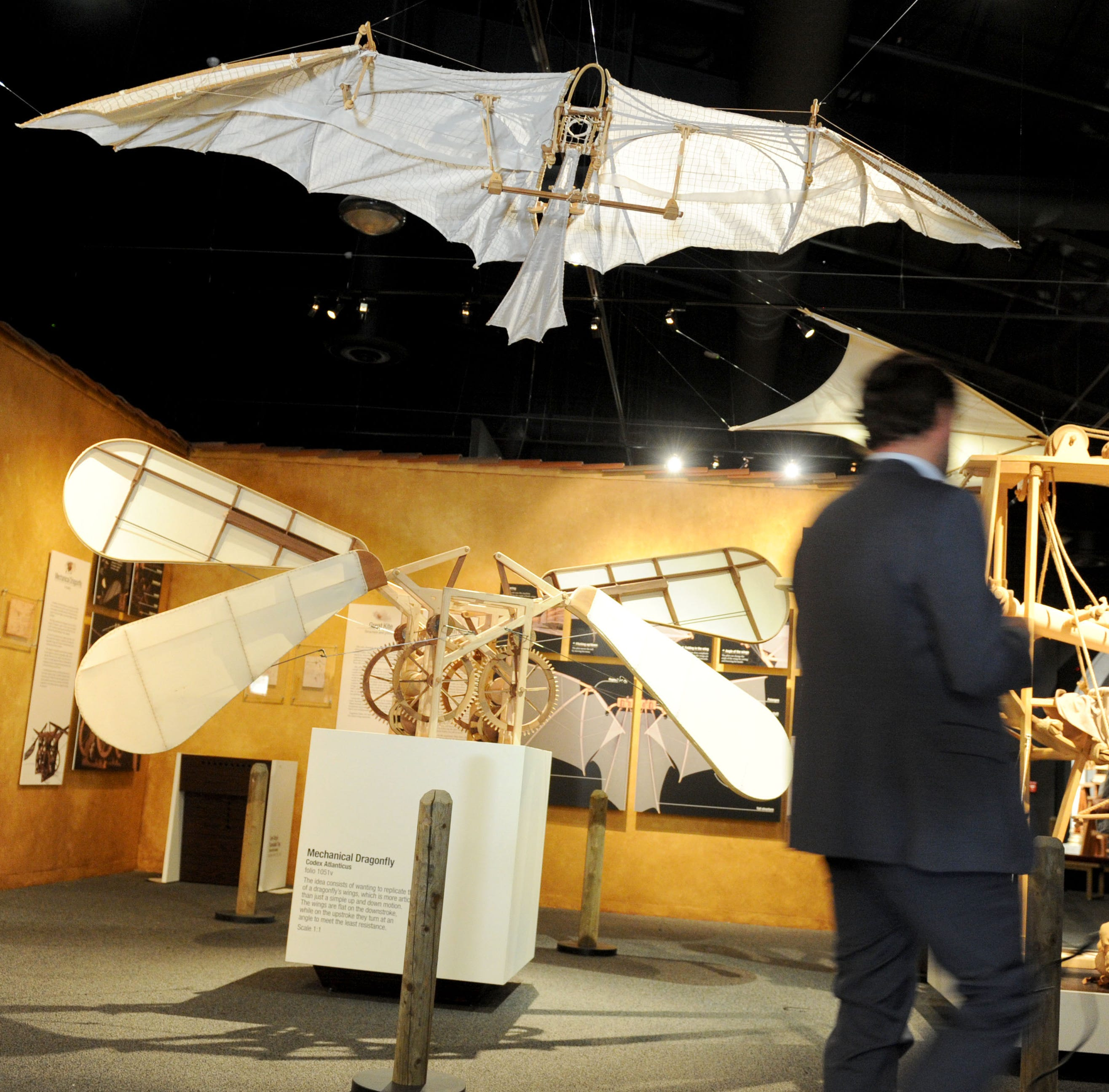 Leonardo da Vinci exhibit ready to open at Reagan Library in Simi Valley
