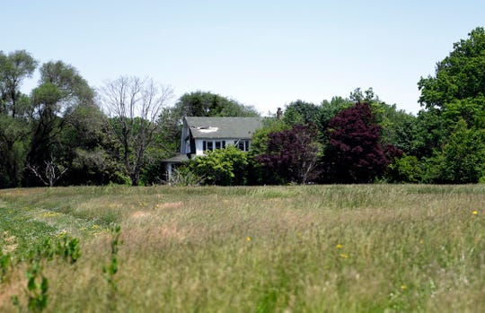 The proposed property for a new 100,000-square-foot ShopRite is currently home to this vacant dwelling and former agricultural land.