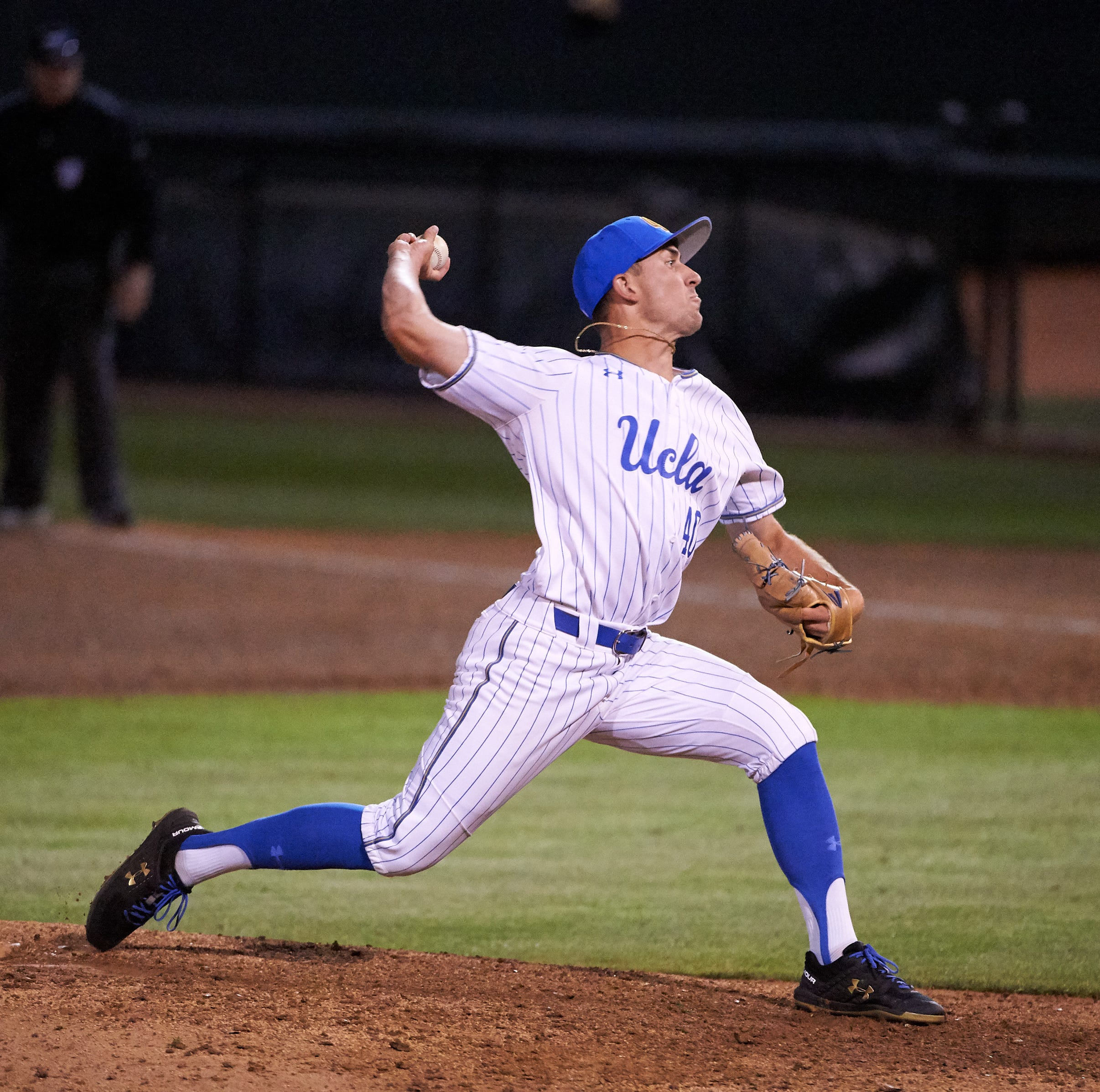 Remember Holden Powell? He's now a closer on UCLA's top-ranked baseball team