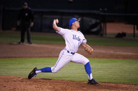 Former Mt. Whitney High School standout Holden Powell is a closer on the UCLA baseball team.