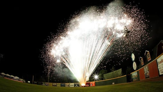 Recreation Park is the new home of Visalia's annual fireworks show. Visalia Rawhide and Momentum Broadcast are cosponsoring the July 3 event.