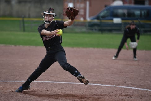 Scarsdale junior Sam Hausman was voted the lohud softball Player of the Week on May 21, 2019.