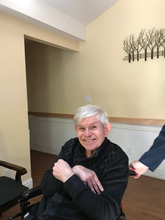 Steven Cherperko, 75, resides in a Paramus group home operated by Arc of Bergen and Passaic. He's seen here on Tuesday, May 21, 2019.